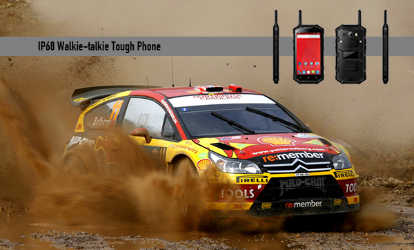IP68 Walkie-talkie Tough Phone