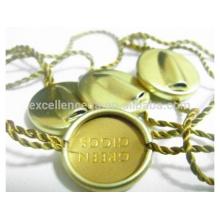 plus important fournisseur d'or sceller de tag depuis 15 ans