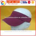 Design personalizado do projeto personalizado 100% algodão esportes dom viseira esporte cap