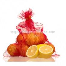 ПЭ мешок сетки сетчатый трубчатый мешки для фруктов и овощей