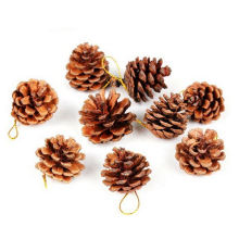 OEM Pinecones Hang Decoration and Craft on Christmas Tree