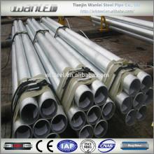 Tube d'acier galvanisé à chaud