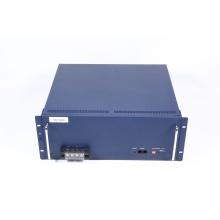 Batería de litio recargable de 48V 100Ah conectada con BMS