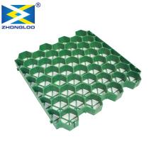 High strength Plastic Paver Grass Grid / Car Parking Lot geogrid