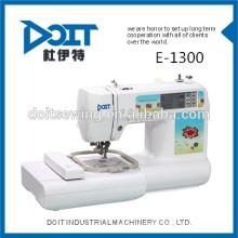 DT-E1300 Multi-fonction domestique broderie machine à coudre melco broderie vêtement machine à coudre prix à vendre