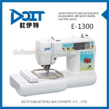 DT-E1300 Multi-função de bordado doméstico máquina de costura melco bordado vestuário preço da máquina de costura para venda