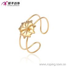 Xuping Fashion Simple Gold-Plated flor imitación joyería bebé brazalete (51342)
