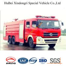 Camion de pompiers de l'eau 18ton Dongfeng Euro3