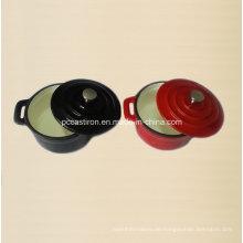 Emaille Gusseisen Mini Kochgeschirr Hersteller aus China