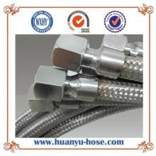Manguera flexible de metal de alta presión con conexión de forma igual