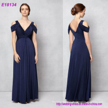 Classy and Elegant Design Apricot Graceful Charming Evening Dress
