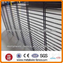 Powder coated Double wire panel fencing