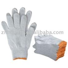 Натуральный белый хлопка перчатки