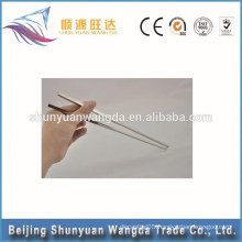 Chopsticks Flatware Type personalised healthy nontoxic titanium chopsticks