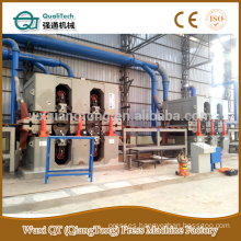 MDF sanding machine/ HPL back sanding machine /particle board sanding machine