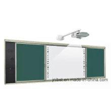 Kombinieren Sie verschiebbares Greenboard, Whiteboard und interaktives Whiteboard