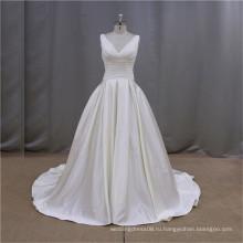 Современная Западная ovarlay болеро свадьба атласная вечерние платья