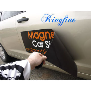 Custom Removable Waterproof Magnetic Car Sticker
