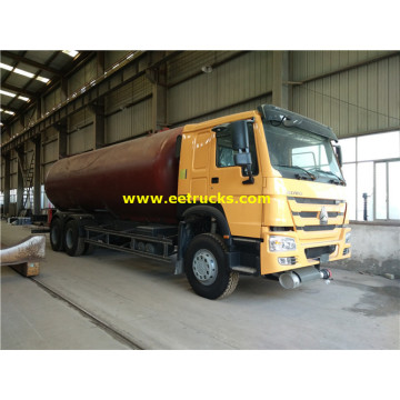 25000 Liters SINOTRUK Propane Gas Dispenser Trucks