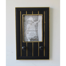 Black Frame with Hanger for Wall