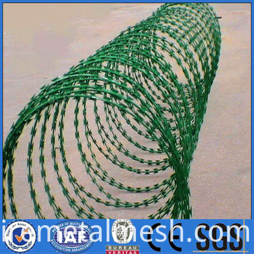 barbed wire pvc