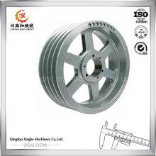 Rueda de fundición de acero de aleación OEM con mecanizado CNC