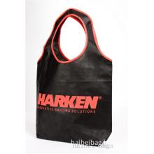 Non-Woven Hoop Shoulder Tote Bag (HBNB-391)