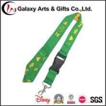 Promoción regalos poliéster impresión personalizada cordón tejido