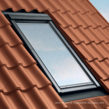 Clarabóia de telhado de vidro de alumínio