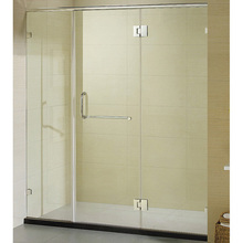"60"" Sliding Big Large Wheel Roller Shower Door"