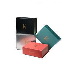 Luxus-kosmetische faltbare Papierkästen