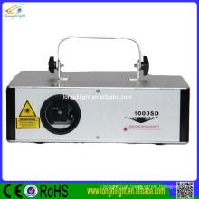 Mini projetor da mostra da luz laser de 1w / laser ilumina o partido do clube de DJ / mini rgb da luz laser