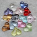 13*24*30MM Transparent Colors  Bracelet Heart Beads Wholesale