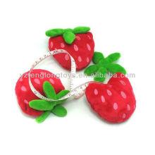 Lovely Kinder Erdbeere portable Plüsch Tapeline