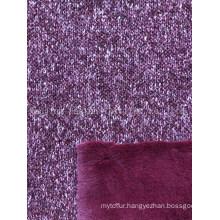 Knitted Bonded Rabbit Hair Esfh-1156-10