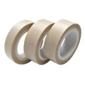 Manufacturer Wholesale Teflon (PTFE) Coated Fiberglass Fabric Tape Without Adhesive