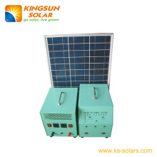 Solar Home Power System Panel: 45W; Battery: 24ah