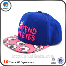 embroidery fitted snapback hat
