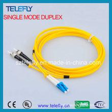 Cable de comunicación ST-LC de un solo modo
