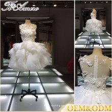 2017 выполненное на заказ moq = 1 шт невесты мини-платье