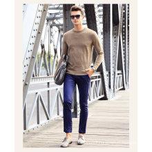 Men′s Cashmere Sweater with Round Neck (13brdm005-2)