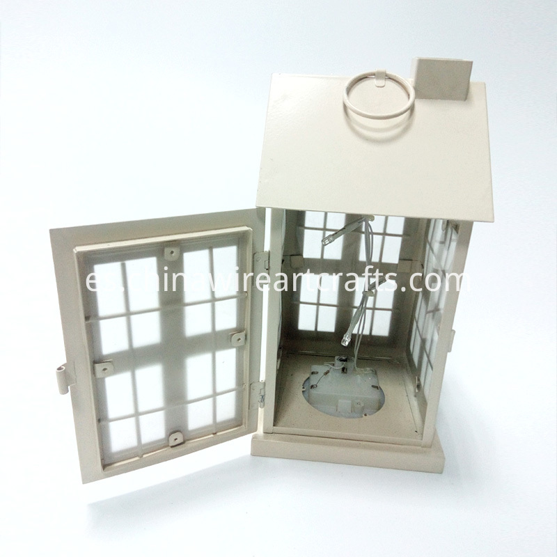 Metal LED Lantern for home decoration