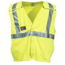 Men's High-Visibility FR Lime Breakaway Work Vest