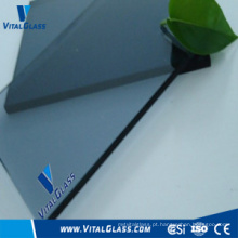 Vidro liso de cinza azul com CE e ISO9001