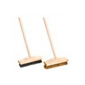 Nylon deck brushes