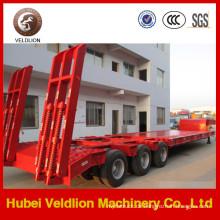 Heavy 3 Axle Tiefbett Anhänger 30-100tons