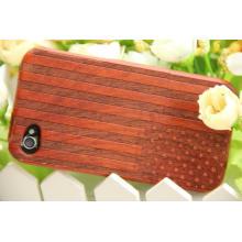 Couverture mobile en bois assez rouge