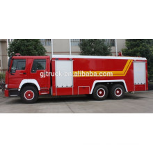Camión / camión de bomberos Sinotruk HOWO 6X4 / camión de bomberos Sinotruk Howo 6x4 con capacidad de 10000L