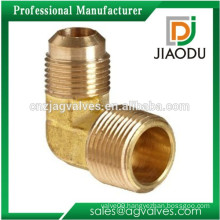 china factory low price good quality forged brass male threaded 90 degree reducing elbow fitting