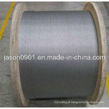 Corda de aço para cabo de controle Sistemas automotivos, corda de aço